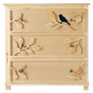 MAISONS DU MONDE - commode enfant nature - Children's Drawer Chest