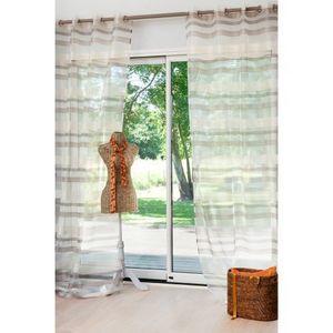 Maisons du monde - rideau intense beige - Eyelet Curtain