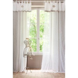 MAISONS DU MONDE - rideau isabella - Lace Curtain