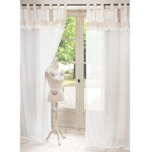 MAISONS DU MONDE - rideau angélique - Tab Top Curtain