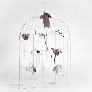 Maisons du monde - pêle-mêle cage oiseau blanc - Pell Mell