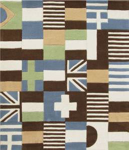 ART FOR KIDS - tapis puzzle drapeaux - Children's' Rug