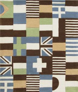 ART FOR KIDS - tapis puzzle drapeaux - Children's' Rug
