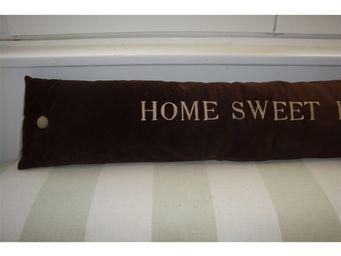 L'atelier D'anne - bas de porte home sweet home - Draught Stopper