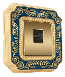 FEDE - smalto italiano siena collection - Multimedia Socket