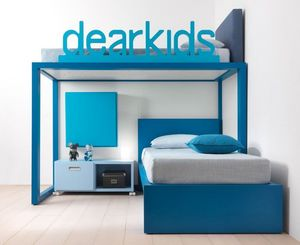 DEARKIDS -  - Mezzanine Bed Child