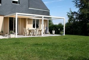 IDEEA TERRASSE - id2 design - Attached Pergola