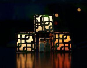 PLENA LUNA - CRYSTAL LIGHT -  - Decorative Illuminated Object