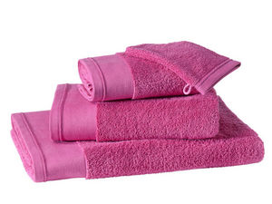 BLANC CERISE - serviette de toilette - coton peigné 600 g/m² - un - Towel