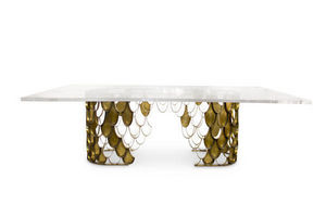 BRABBU - koi ii - Rectangular Dining Table