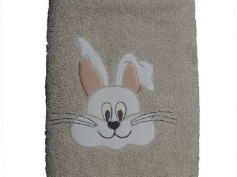SIRETEX - SENSEI - drap de douche 70x140cm en forme de lapin - Children's Bath Towel