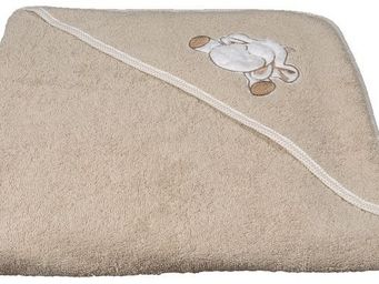 SIRETEX - SENSEI - cape de bain brodée doudou mouton - Hooded Towel