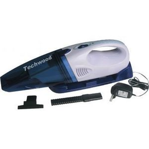 TECHWOOD - aspirateur àmain techwood bleu - Bagless Vacuum Cleaner