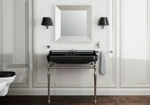 BLEU PROVENCE -  - Pedestal Washbasin