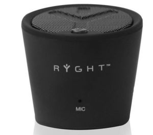 RYGHT AUDIO - enceinte mp3 pure decibel - noir - Digital Speaker System