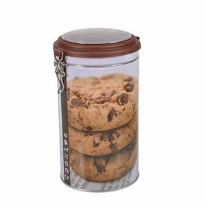 WHITE LABEL - boite à café ronde cookies - Biscuit Tin