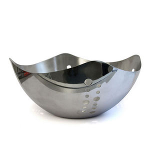 WHITE LABEL - corbeille en inox - Fruit Holder