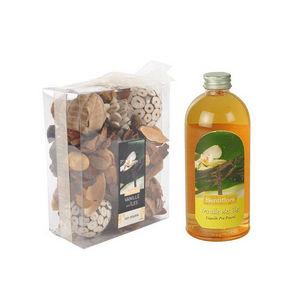 WHITE LABEL - pot pourri recharge liquide de parfum vanille sucr - Potpourri