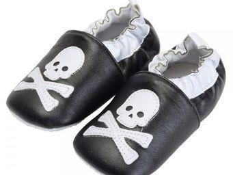 La Chaise Longue - chaussons bébé tête de mort gm - Children's Slippers