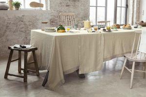 Couleur Chanvre - chanvre pur# - Rectangular Tablecloth