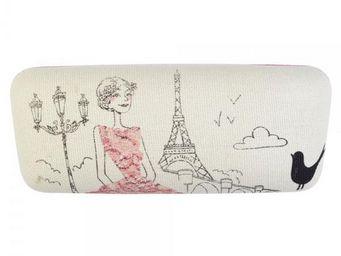 La Chaise Longue - etui à lunettes parisienne romantique - Spectacle Case