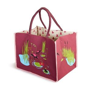 RêVES DE GRENOUILLE - grand nenuphar - Toy Bag