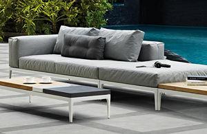 Gloster - grid - Garden Sofa