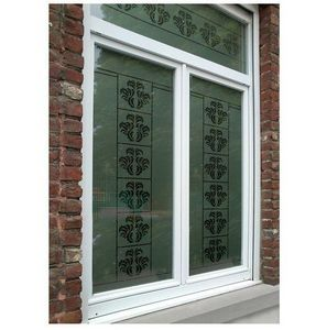 J'HABILLE VOS FENETRES - plumes baroques 2 - Privacy Adhesive Film