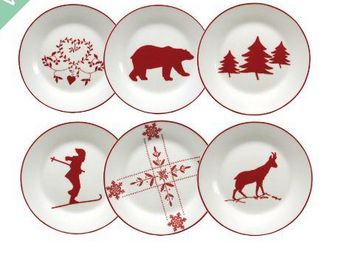 Interior's - assiette dessert - Christmas And Party Tableware