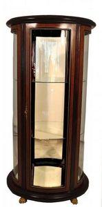 Demeure et Jardin - vitrine ovale - Curved Display Cabinet