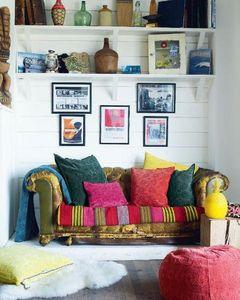 Maison De Vacances - vice versa - Square Cushion