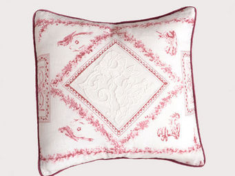 Coquecigrues - coussin carrè fortuna - Square Cushion