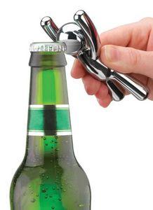 Umbra - décapsuleur en métal chromé design bonhomme 11x5x3 - Bottle Opener