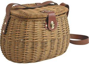Aubry-Gaspard - panier peche en osier - Fisherman's Basket