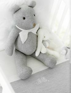 Theophile & Patachou - flanelle - Rag Teddy Bear