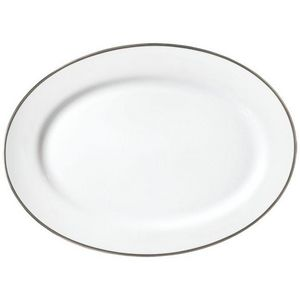 Raynaud - fontainebleau platine - Oval Dish