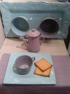 ATELIER BLEU D'ARGILE -  - Breakfast Set