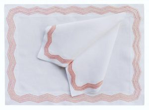 Eri Textiles Riesle -  - Matching Tablecloth And Napkin Set