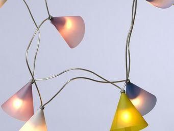 Pa Design - guirlande - aurore 50 lumières 5m   guirlande et o - Lighting Garland