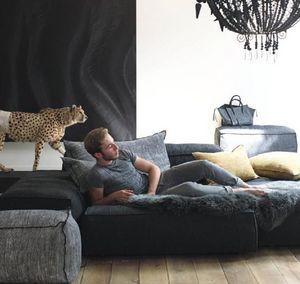 Maison De Vacances - chenille kyoto soft washed - Floor Cushion
