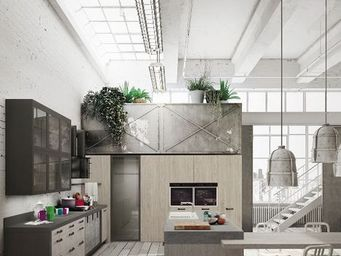 Snaidero - ...loft' - Built In Kitchen