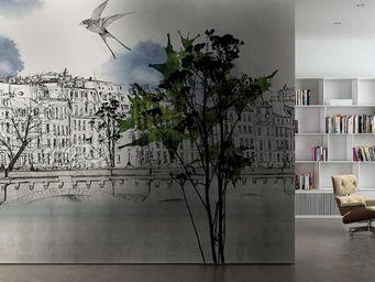 GLAMORA - paris - Panoramic Wallpaper