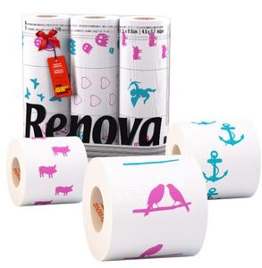 Renova -  - Patterned Toilet Paper