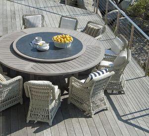 JANUS et Cie -  - Round Garden Table