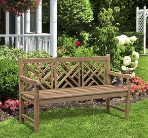 Lindsey Teak - princeton - Garden Bench