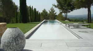 Silver Pool - lames pvc - Automatic Pool Cover