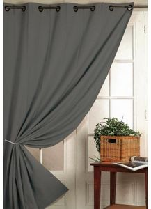 Fireproof blackout curtain