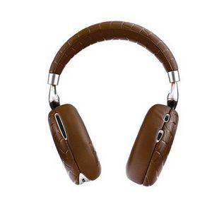 PARROT - zik 3 brun croco - A Pair Of Headphones