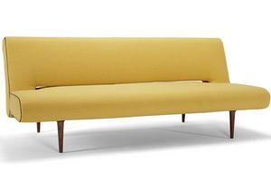 INNOVATION - canape design unfurl jaune convertible lit par inn - Futon
