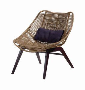 ROCHE BOBOIS -  - Garden Armchair